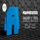 Stranger @ Awakenings New Years Day Special - Gashouder Amsterdam - 01.01.2016