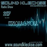 Sound Kleckse Radio Show 0217 - Knall&Voll - 26.12.2016