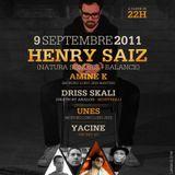 Henry Saiz (Natura Sonoris, Renaissance) @ Moroko Loko Opening Party - Rabat (Morocco) 09.09.2011