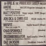 Matt Positive & MC ADB - Live at Advanced Technology - 1999
