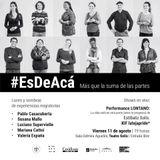 Valeria España y Rafael Sanseviero #EsdeAca - Trazos - 07-08-17