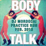 February BODY TALK Practice Run Promo [all vinyl/Zapp/The Jacksons/Debbie Deb/Ohio Players]