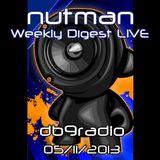 nutman's Weekly Digest on DB9 Radio - 05/11/2013