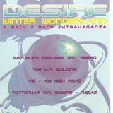 Kenny Ken B2B Dr S Gachet Desire 'Winter Wonderland' 3rd Feb 1996