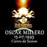 Oscar Mulero - Live @ Cierre Set, The Omen, Madrid (15.07.1995) Cassette Polaco Morros & Bafomeus