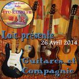 Guitares et compagnie 26 avril 2014