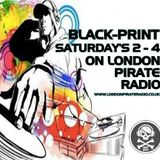 dj black print live techno set on londonpirateradio