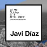 Javi Diaz - Set Mix Tech House October 2012
