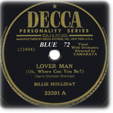 BLUE 72: Lover Man (Oh, Where Can You Be)