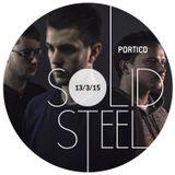 Solid Steel Radio Show 13/3/2015 Part 1 + 2 - Portico
