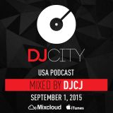 DJCJ - DJcity Podcast - Sept. 1, 2015