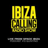 Quintino Live Set at Ibiza Calling - September 2014