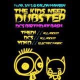 "live Drum&Bass DJ-set at ""The Kids Need Dubstep"" (14.09.2012 @Salon Hansen, Lüneburg)"