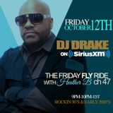 Dj Drake On SiriusXm Friday Fly Ride  Live With Heather B (Air Date 10-12-18)