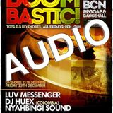 Audio Luv Messenger @ Boombastic Bcn 23.12.16
