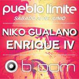 NIKO GUALANO LIVE AT BLOOM PUEBLO LIMITE 21-06-2K14