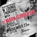 Mark Gorbulew live @W Lounge, Istanbul, Turkey