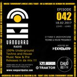 VANGUARD RADIO Episode 042 with TEKNOBRAT - 2017-02-18th CHUO 89.1 FM Ottawa, CANADA