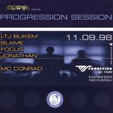 DJ Blame + MC Conrad @ FUTURE Progression Session, MS Connexion, Mannheim (11.09.1998)
