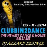 Allard Eesinge - Clubbin2Dance (08-11-2014)