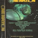 Mickey Finn with Fearless, Shabba & 5ive-0 at One Nation Bank Holiday Special (Aug 99)