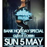 Musik @ Thompson's Bank Holiday Special 5-5-13 feat. Gleave Dobbin