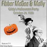 The Fibber McGee & Molly Show - Gildersleeve's Halloween Party  (10-24-39)