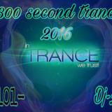 1800 Second Trance Vol -101- 2016  ♧Mohamed Arafat♧