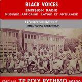 BLACK VOICES  émission spéciale TP POLY RYTHMO DE COTONOU SALSA DECIBEL 2017