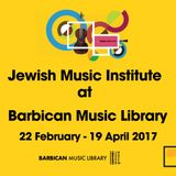 JMI Exhibition at Barbican Music Library