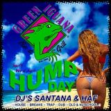 dj's santana and dj haf live green iguana south west shore