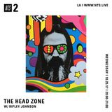 The Head Zone w/ Ripley Johnson - 25th October 2017