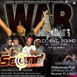 War Wednesdays - Crazy Chris Plays CC Entertainment Sound@HideAway  Miramar Florida 31.1.2018