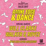 2017.04.22 - Amine Edge & DANCE @ Exchange, Los Angeles, USA