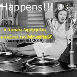 Mr.eNeX @ Loukas Dimitrelos Radio Show (Beton7 Art Radio Keramikos 03/04/2015)