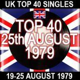 UK TOP 40  19 - 25 AUGUST 1979