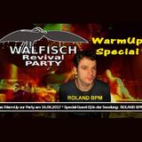 WALFISCH Revival-WarmUp@DeeRedRadio (15.06.2017)