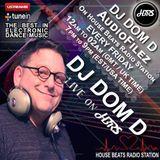 DJ Dom D Presents AudioFilez Live On HBRS 25-08 -17