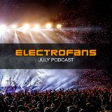 Electrofans Podcast - July 2018