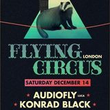 Audiofly @ Flying Circus, London (14-12-2013)