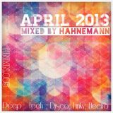 APRIL 2013 @ Mixed By Hahnemann [HNMN.005]