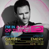 Gareth Emery - ASOT 750 Festival Jaarbeurs in Utrecht, The Netherlands (27-02-2016)