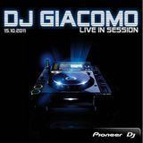 DJ Giacomo live in Session 15.10.11