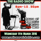 RW066 - THE JOHNNY NORMAL RADIO SHOW - 9TH MARCH 2016 - RADIO WARWICKSHIRE
