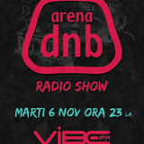 Arena dnb radio show - Vibe fm - mixed by MIGHTY BOOGIE - 06-nov-2012