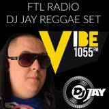 DJ JAY - REGGAE MIX & INTERVIEW ON 105.5FM (APRIL-18-2016)