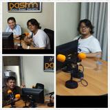 Talkshow di PasFM bersama Secundo Lee dan teman-teman trader dari Fxpod, Rabu, 21 Jan 2015
