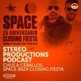 WEEK44 2014 :: Chus & Ceballos Live From Space Ibiza Closing Fiesta