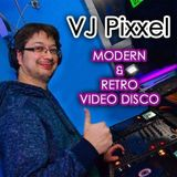 VJ Pixxel - 2. Retro 90's Video Disco Mix (Live Mix)