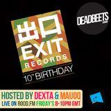 DeadBeets Radio 001 - 12/04/13 - Exit Records Special